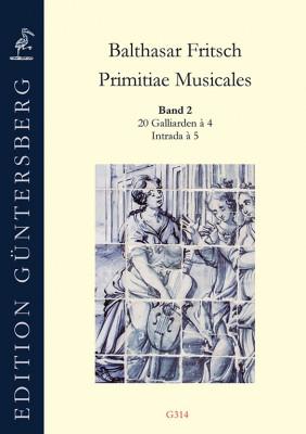 Fritsch, Balthasar (~1575–nach 1608): Primitiae Musicales