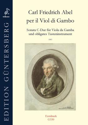 """Abel, Carl Friedrich (1723–1787): Sonata C-Dur """"per il Viol di Gambo"""" A4:1"""