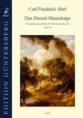 Abel, Carl Friedrich (1723–1787): Das Drexel-Manuskript