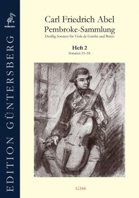 Abel, Carl Friedrich (1723–1787):Die Pembroke-Sammlung– Sonaten 11–16