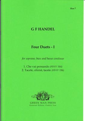 Händel, Georg Friedrich (1685-1759): Vier Duette - I & II<br>- Band I (HWV 184, 196)