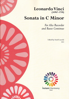 Vinci, Leonardo (~1696–1730): Sonata C minor