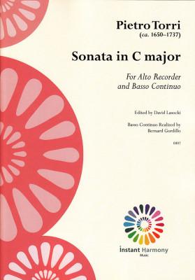Torri, Pietro (~1650–1737): Sonate C-Dur