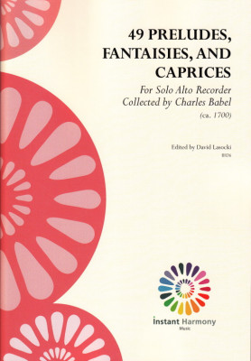 Babel, Charles (~1700): 49 Preludes, Fantaisies, and Caprices