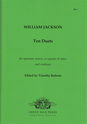 Jackson, William (1730–1803): Ten Duets