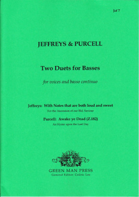Jeffreys, George (?-1685) & Purcell, Henry (1659-1695): Duets for Basses