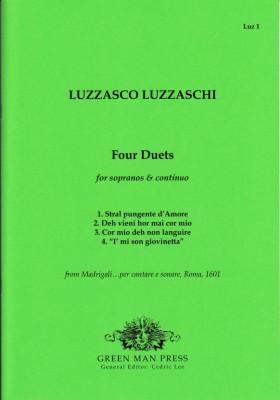Luzzaschi, Luzzasco (1545–1607): Four Duets