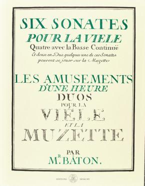 BÂTON, Charles (b.?–1758): Six sonates