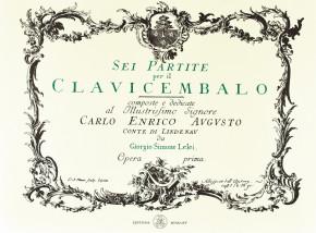 """LOEHLEIN (""""Lelei""""), Georg Simon (1725–1781): Sei partite"""