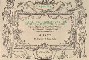 PALADINO, Giovanni Paolo (b.?–c.1566): Premier livre