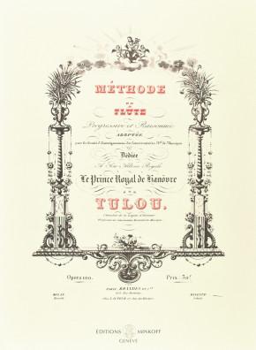 TULOU, Jean-Louis (1786–1865): Méthode de flûte progressive