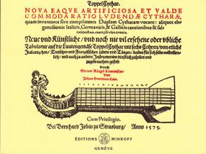 Kargel, Sixt ( c.1540–?) & Lais,Johan D.:Nova eaque artificiosa