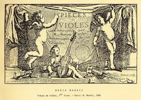Marais, Marin (1656–1728): Pièces à une et à deux violes. Livre I