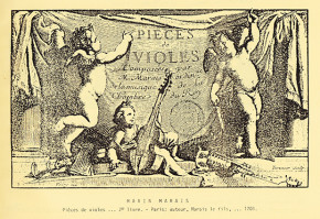 Marais, Marin (1656–1728): Pièces à une et à deux violes. Livre II