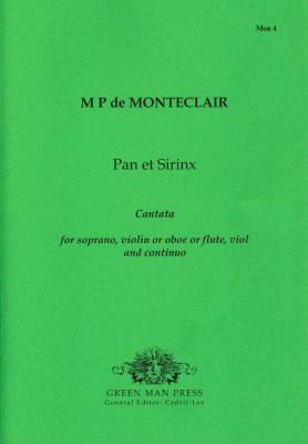 Montéclair, Michel Pignolet de (~1667-1737): Pan et Sirinx