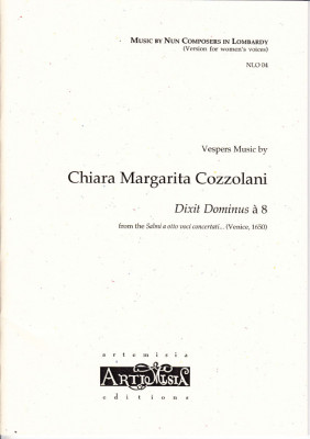 Cozzolani, Chiara Margarita (1602-~1677): Dixit Dominus<br>- Convent-Version für Frauenst.