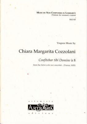 Cozzolani, Chiara Margarita (1602-~1677): Confitebor tibi Domine<br>- Convent-Version für Frauenst.
