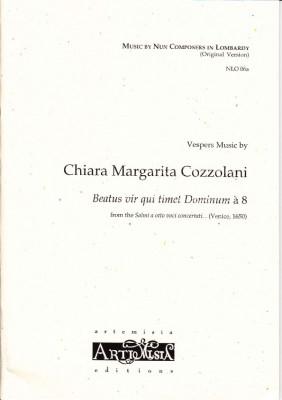 Cozzolani, Chiara Margarita (1602-~1677): Beatus vir qui timet Dominum<br>- Originalausgabe für gem. Chor