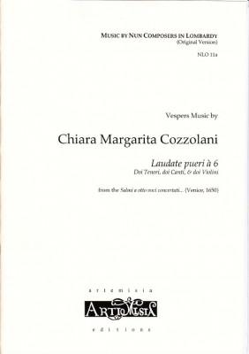 Cozzolani, Chiara Margarita (1602-~1677): Laudate pueri á 6<br>- Originalausgabe für gem. Chor
