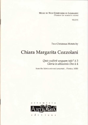 Cozzolani, Chiara Margarita (1602-~1677): Zwei Weihnachtsmotetten<br>- Convent-Version für Frauenst.