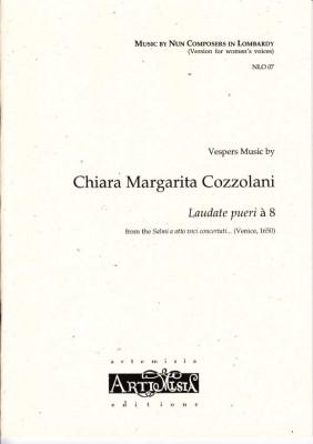 Cozzolani, Chiara Margarita (1602-~1677): Laudate pueri<br>- Convent-Version für Frauenst.