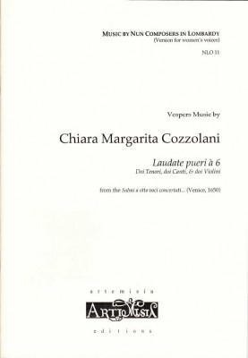Cozzolani, Chiara Margarita (1602-~1677): Laudate pueri á 6<br>- Convent-Version für Frauenst.