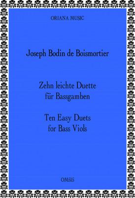 Boismortier, J.B. Bodin de (1691– 1755):10 Easy Duets from op. 66