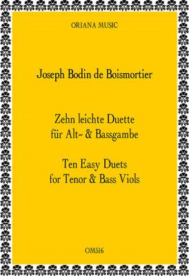 Boismortier, J.B. Bodin de (1691– 1755): 10 Easy Duets from op. 66