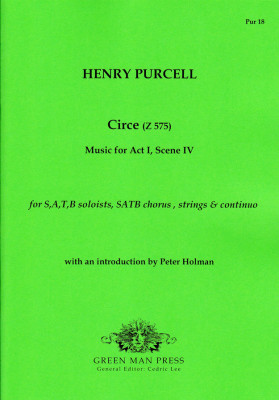 Purcell, Henry (1659–1695): Circe (Z 575)<br>– Partitur & Stimmen