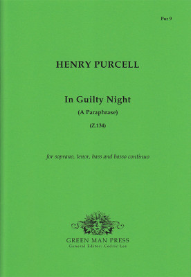 Purcell, Henry (1659-1695): In Guilty Night