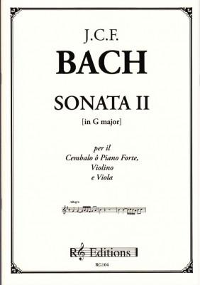 Bach, Johann Christoph Friedrich (1732- 1795): Sonata II