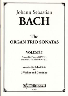 Bach, Johann Sebastian : Organ Trio Sonatas<br>- Band I (2 Violinen)