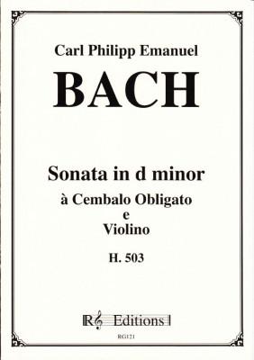 Bach, Carl Philipp Emanuel (1714-1788): Clavier-Fantasie mit Begleitung einer Violine H. 536