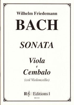 Bach, Wilhelm Friedemann (1710-1784): Sonata c-Moll