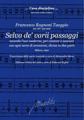 Rognoni, Francesco (?–nach 1626): Selva de'varii passaggi