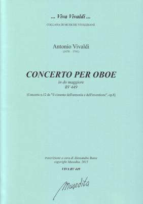 Vivaldi, Antonio (1678–1741): Concerto C-Dur RV 449
