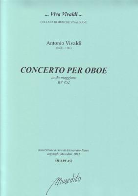 Vivaldi, Antonio (1678–1741): Concerto C-Dur RV 452