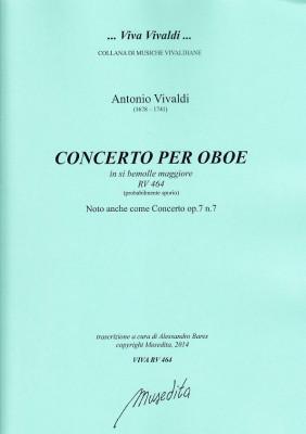 Vivaldi, Antonio: Concerto B-Dur RV 464 op. 7, 7