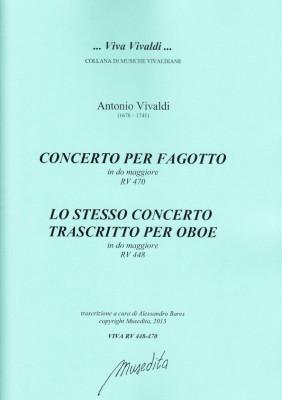 Vivaldi, Antonio (1678–1741): Concerto C-Dur RV 470/RV 448