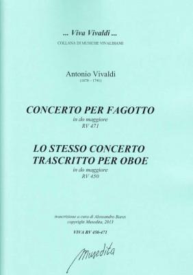 Vivaldi, Antonio (1678–1741): Concerto C-Dur RV 471/RV 450