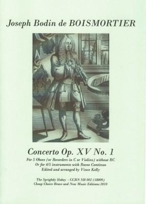 Boismortier, Joseph Bodin de (1689-1755): Concerto F-Fur op. 15/1