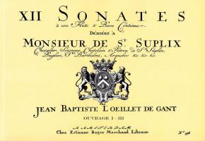 Loeillet 'de Gant', Jean-Baptiste (1688–1720): 36 Sonaten op. 1–3