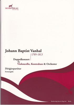 Vanhal, Johann Baptist (1789–1813): Doppelkonzert