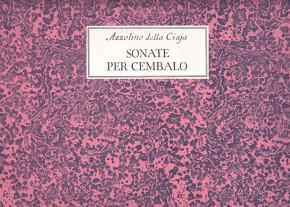 della Ciaja, Azzolino (1671–1755):Sonate per Cembalo op. 4