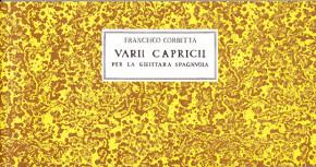 Corbetta, Francesco (~1615–1681):Vari Capricci