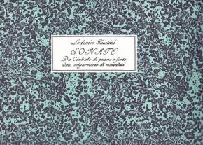 Giustini, Ludovico (1685–1743):12 Sonate da cimbalo di piano e forte op. 1