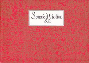 Bigaglia/Galeazzi/Somis/Vivaldi:5 Sonate a violino solo