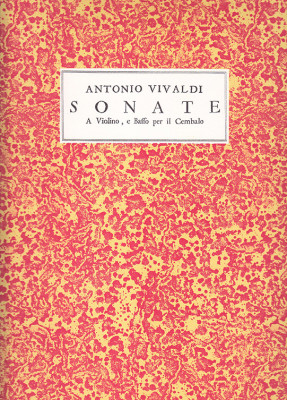 Vivaldi, Antonio (1678–1741):12 Sonate a Violino solo op. 2
