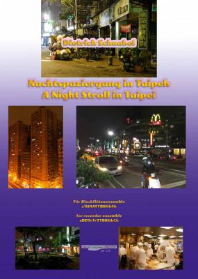 Schnabel, Dietrich (*1968): A Night Stroll in Taipei
