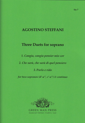 Steffani, Agostino (1654–1728): Three Duets for Soprano